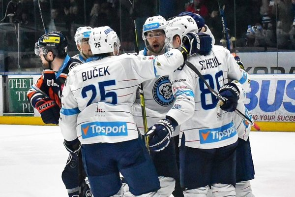 Hokejisti Nitry vyhrali v tejto sezóne prvýkrát v Košiciach. Na tretí pokus.