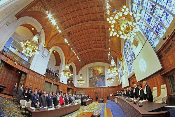 Sudcovia Medzinárodného súdneho dvoru.