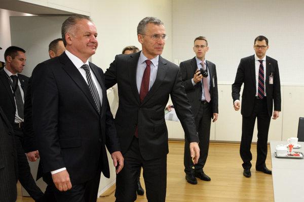 Prezident Kiska sa v Košiciach stretne aj s generálnym tajomníkom NATO Stoltenbergom.