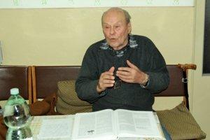 Tibor Hlaváč rád spomína na svoje učiteľské časy na znievskom gymnáziu.