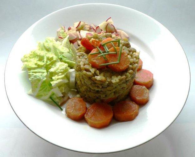 Šošovica s ryžou