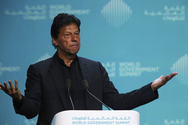 Pakistanský premiér Imrán Chán.