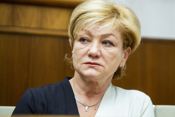 Exministerka kultúry Ľubica Laššáková.