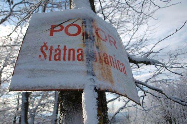 Slovensko - ukrajinská štátna hranica.