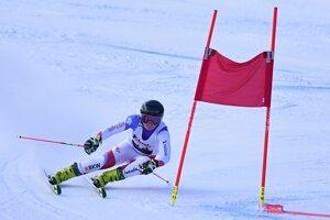 Švajčiarka Simone Wildová, líderka po prvom kole. Napokon obsadila piate miesto.