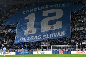 Fanúšikovia Slovana.
