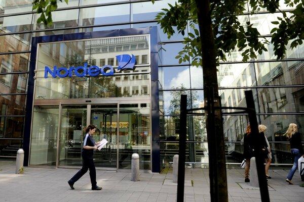 Najväčšia škandinávska banka Nordea.