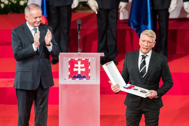 Prezident Kiska udelil Richardovi Stankemu Rad Ľ. Štúra I. triedy za zásluhy o rozvoj demokracie.