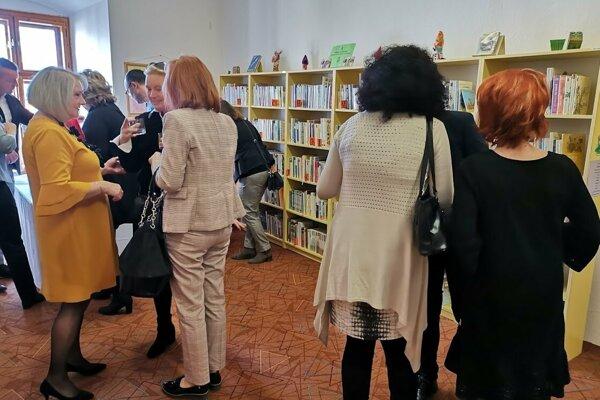 Levočská regionálna knižnica je novinkou v kraji.