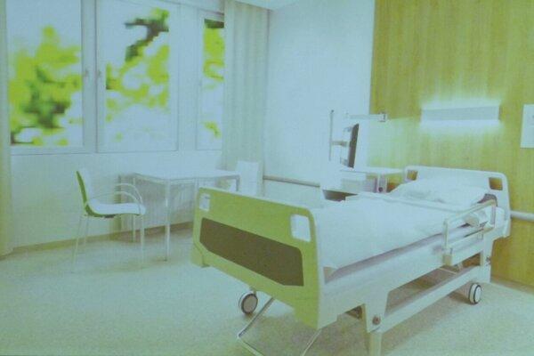 Izby levickej nemocnice by mali byť v budúcnosti 2-lôžkové.