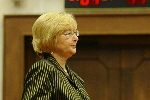 Ľubica Rošková.