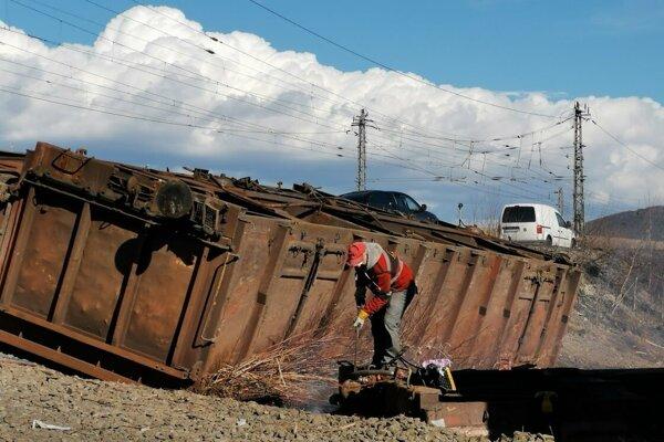 Poškodené vagóny skončia v šrote.