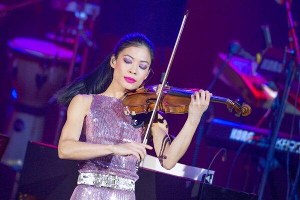 Vanessa-Mae vystúpi v Košiciach.