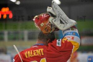 Brankár Michal Valent v záverečných dvoch zápasoch základnej časti neinkasoval ani gól.