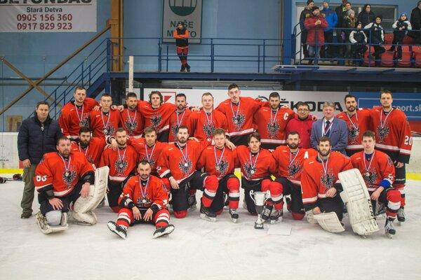 HKM Rimavská Sobota - vicemajster 2. hokejovej ligy 2018/19.