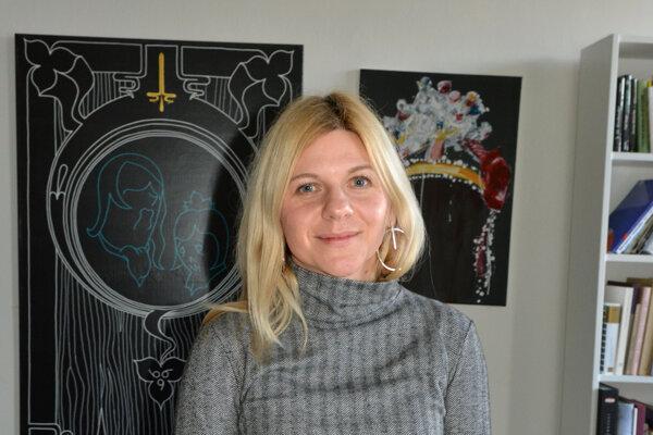 Riaditeľka Východoslovenkej galérie Dorota Kenderová.