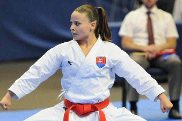 Dorota Balciarová skončila v Bratislave tretia.