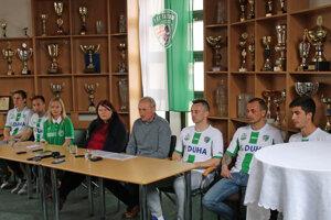 Prešovčania predstavili nové posily pre jarnú časť druhej ligy.