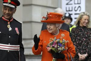 Kráľovná navštívila výstavu v londýnskom múzeu Science Museum.