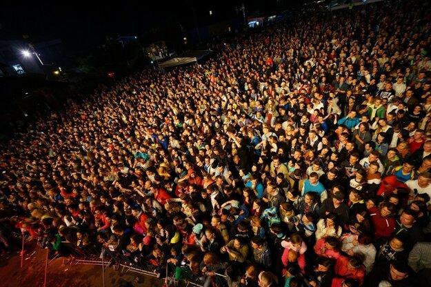 Atmosféra z minulých ročníkov festivalu.
