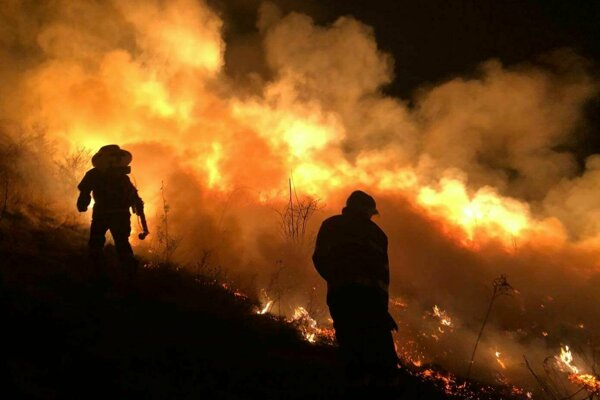 Zásah hasičov pri Košickej Belej.