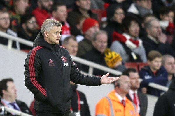 United prehral s Arsenalom.