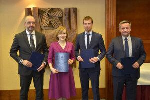 Stretnutie štátnych tajomníkov Česka, Maďarska, Poľska a Slovenska.