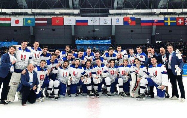 Hokejisti Slovenska, strieborní medailisti zo svetovej univerziády.
