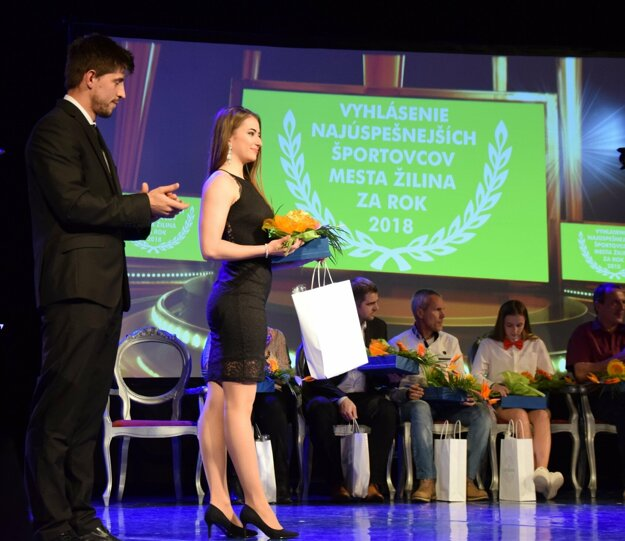 Za najlepšiu mládežníčku bola vyhlásená Karin Suchomelová.