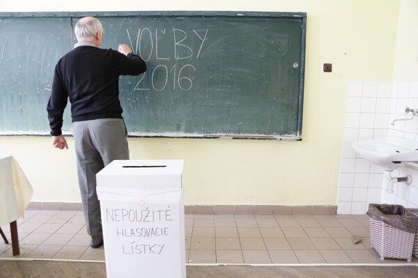 Voľby 2016.