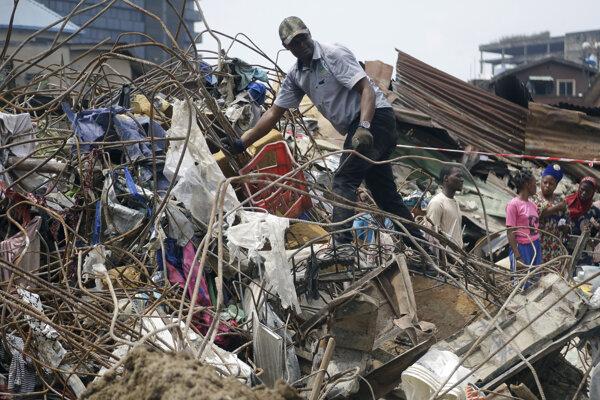 Budova bola určená na demoláciu.