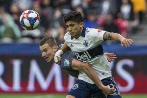 Ján Greguš (vľavo) v MLS - ilustračná fotografia.