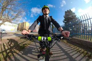 Na maturitu vyše 100 kilometrov na bicykli. Popradčan Jaro si ozvláštnil skúšky.
