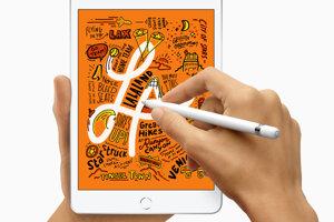 iPad mini podporuje Apple Pencil a má displej Retina.