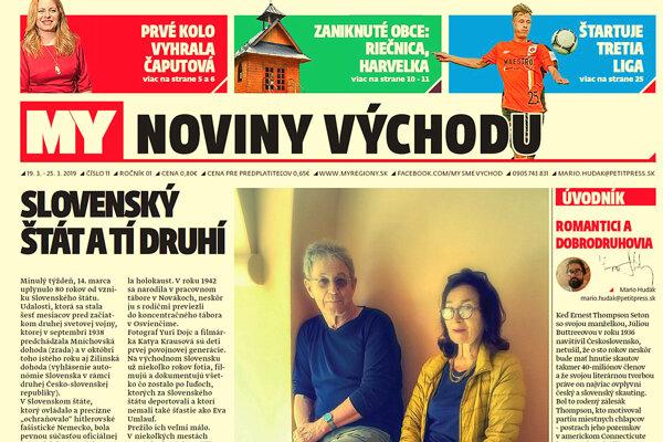 Týždenník východu píše aj jo Slovenskom štáte a tých druhých. (ZDROJ: REDAKCIA)