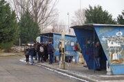 """Autobusovú stanicu v Šali nazývajú """"retro""""."""