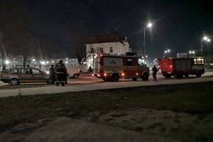 Únik plynu hľadali hasiči najskôr v Nitrianskom Pravne.