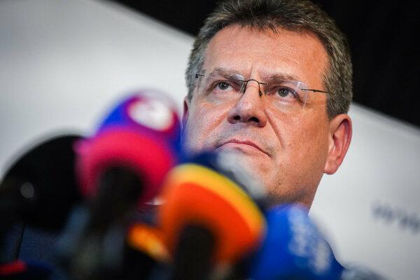 Prezidentský kandidát Maroš Šefčovič.
