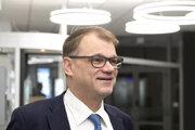 Fínsky dočasný premiér Juha Sipilä.