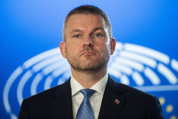 Premiér Peter Pellegrini.