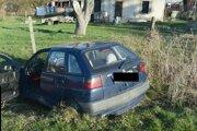 V havarovanom aute našli vodiča bez známok života.