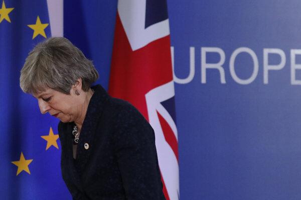 Mayová možno brexitovú dohodu nepredloží do parlamentu na tretie hlasovanie