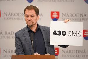 Podľa Igora Matoviča si prokurátor Peter Šufliarsky a Marian Kočner vymenili 430 esemesiek.
