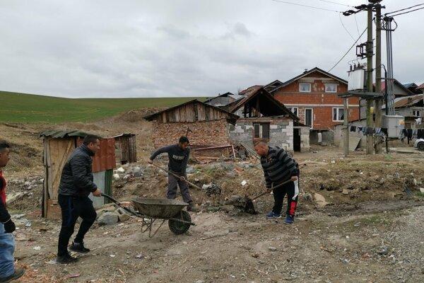 Aktivačné práce v Bystranoch.