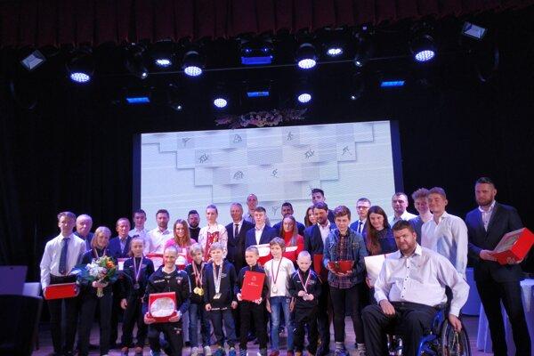 Ocenení športovci za rok 2018