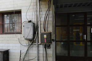Pripojiť elektrinu do haly
