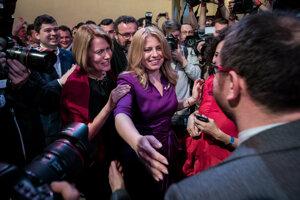 Zuzana Čaputová vyhrala prezidentské voľby.