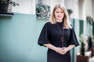 Novozvolená prezidentka Zuzana Čaputová.