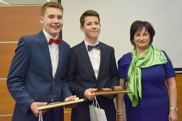 Patrik Marcinek a Martin Donoval dostali Záchranársky čin laickej verejnosti – deti.