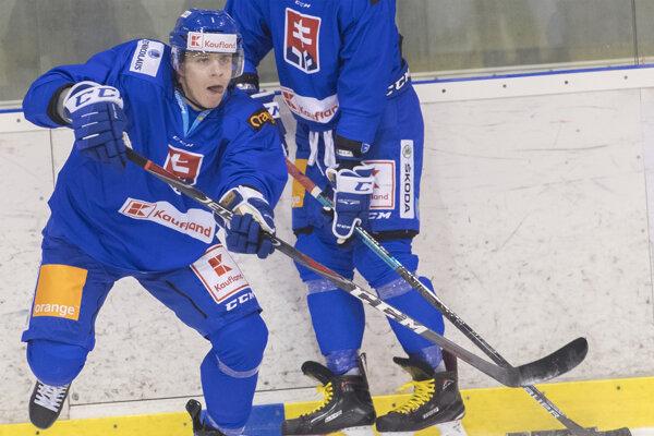 Adam Liška patril na svetovom šampionáte k najlepším slovenským hokejistom.
